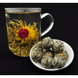 "Blooming tea ""Pearl of the mouth of the dragon"""