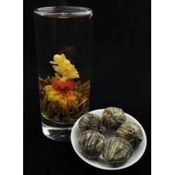"Blooming tea ""Butterfly-flower"""