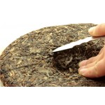 Stainless Steel Pu Er Opener with Wood Handle