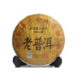 5 years old 357g Chinese yunnan Puerh naturally organic tea